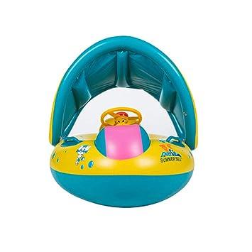 Guangmaoxin 6-36 Meses Flotador para Bebé, Seguridad Anillo de Natación Bebé Niños Hinchable