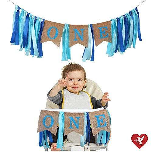 Image Is Loading SS Cohen 1st Birthday Decorations Baby Boy 039