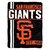 The Northwest Company MLB San Francisco Giants Micro Raschel Throw, One Size, Multicolor