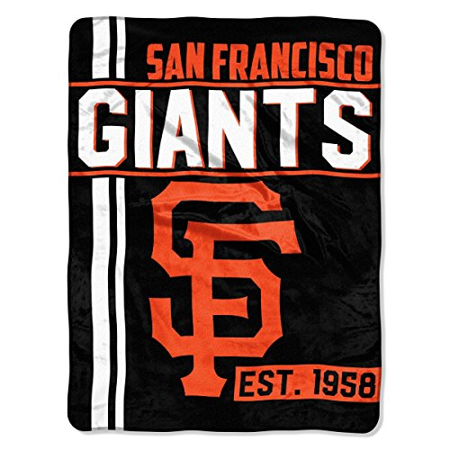 (The Northwest Company MLB San Francisco Giants Micro Raschel Throw, One Size, Multicolor)