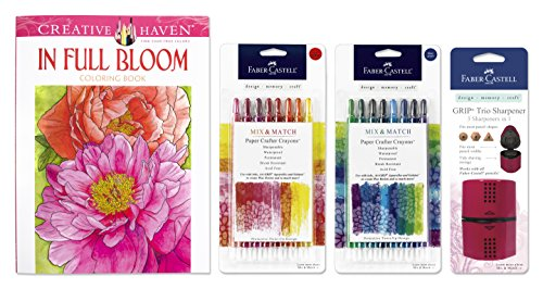 Adult Coloring Crayon Collection