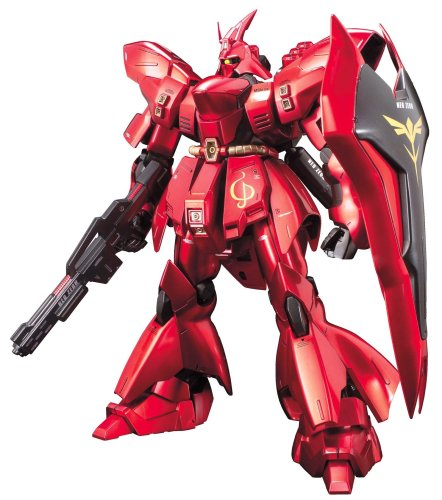 Bandai Hobby MSN-04 SAZABI Metallic Coating Ver, Bandai Master Grade Action Figure