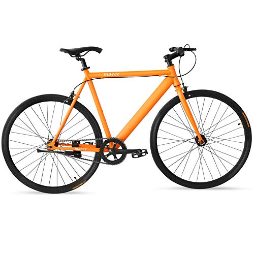 Max4out Fixed Gear Bikes Single Speed Urban Fixie Road Bike 700cc Track Bicycle