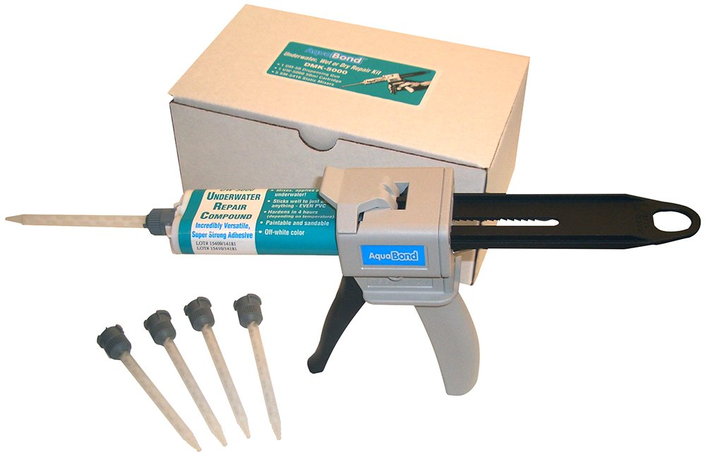AQUABOND Underwater Pool Repair Epoxy Kit for Swimming Pools and Spas - DMK-5000 50ml Kit (Off-White)