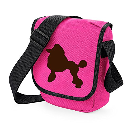 Poodle Choice Brown Dog Bag Colours Silhouette Shoulder Pink Gift Of Reporter rrYqz