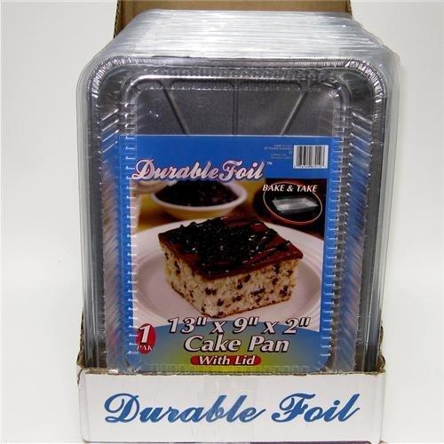 FOIL/DURA UTIL/CAKE W/LID *12* by DDI