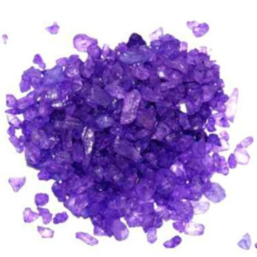 Purple Grape Rock Candy Crystals 1lb - Grape Candy Rock Purple
