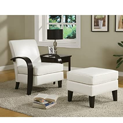 Awe Inspiring Coaster 900243 Bentwood Accent Chair With Ottoman Beige Ncnpc Chair Design For Home Ncnpcorg