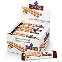 Cizmeci Time Superroll Wafers Filled with Cocoa and Hazelnut Cream, 24 X 15g - Pack of 1