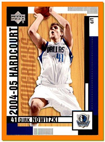 2004-05 Upper Deck Hardcourt #17 Dirk Nowitzki Germany DALLAS MAVERICKS Mavs