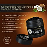Teeth Whitening Activated Coconut Charcoal Powder – 2oz – Activated Charcoal Teeth Whitening Kit – Tooth Whitening – Teeth Whitener – White Teeth Whitening Charcoal – Tooth Powder Variant Image