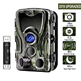 [2019 Upgraded] Trail Camera, ALWEEN 16MP 1080P Wildlife Game Cam with Infrared Night