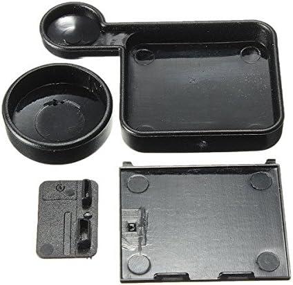 Camera Lens Cap And Battery Door With Side Door Replacement Cover For GoPro Hero 3 Plus