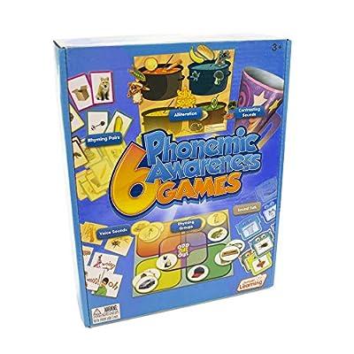 Junior Learning 6 Phonemic Awareness Game: Toys & Games