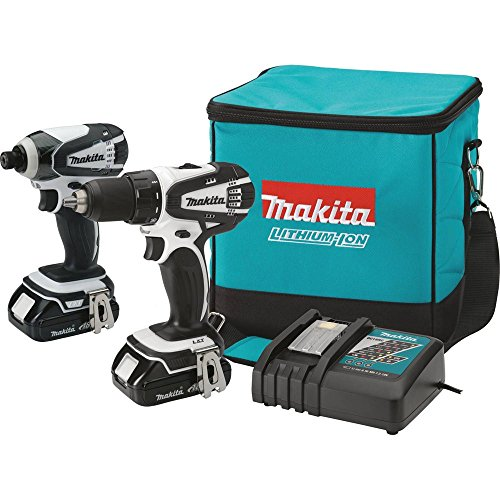 Makita CT200RW 18V Compact Lithium-Ion Cordless Combo Kit...