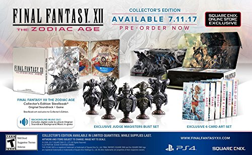 Final Fantasy Xii  The Zodiac Age Collectors Edition   Playstation 4