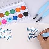 Transon Water Brush Pen Set of 3 Brush Tips for
