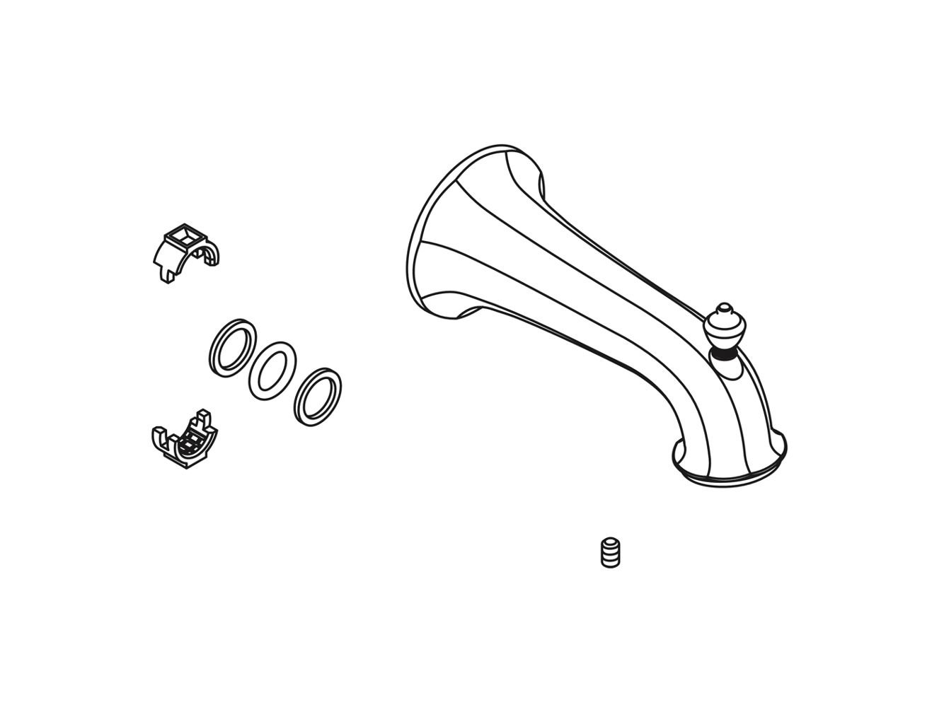 Kohler 1097031-CP Replacement Part by Kohler