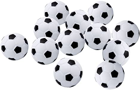 hertht Kleine Balones de Fútbol (12 unidades) Bolsa de fútbol mesa ...