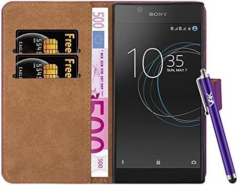 Amazon.com: Funda para Sony Xperia L1 – Funda tipo cartera ...