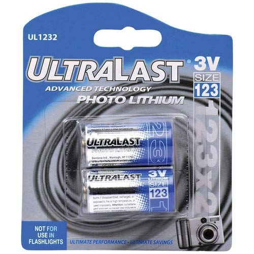 V CR123 Photo Lithium Battery Retail Pack (Discontinued by Manufacturer) ()