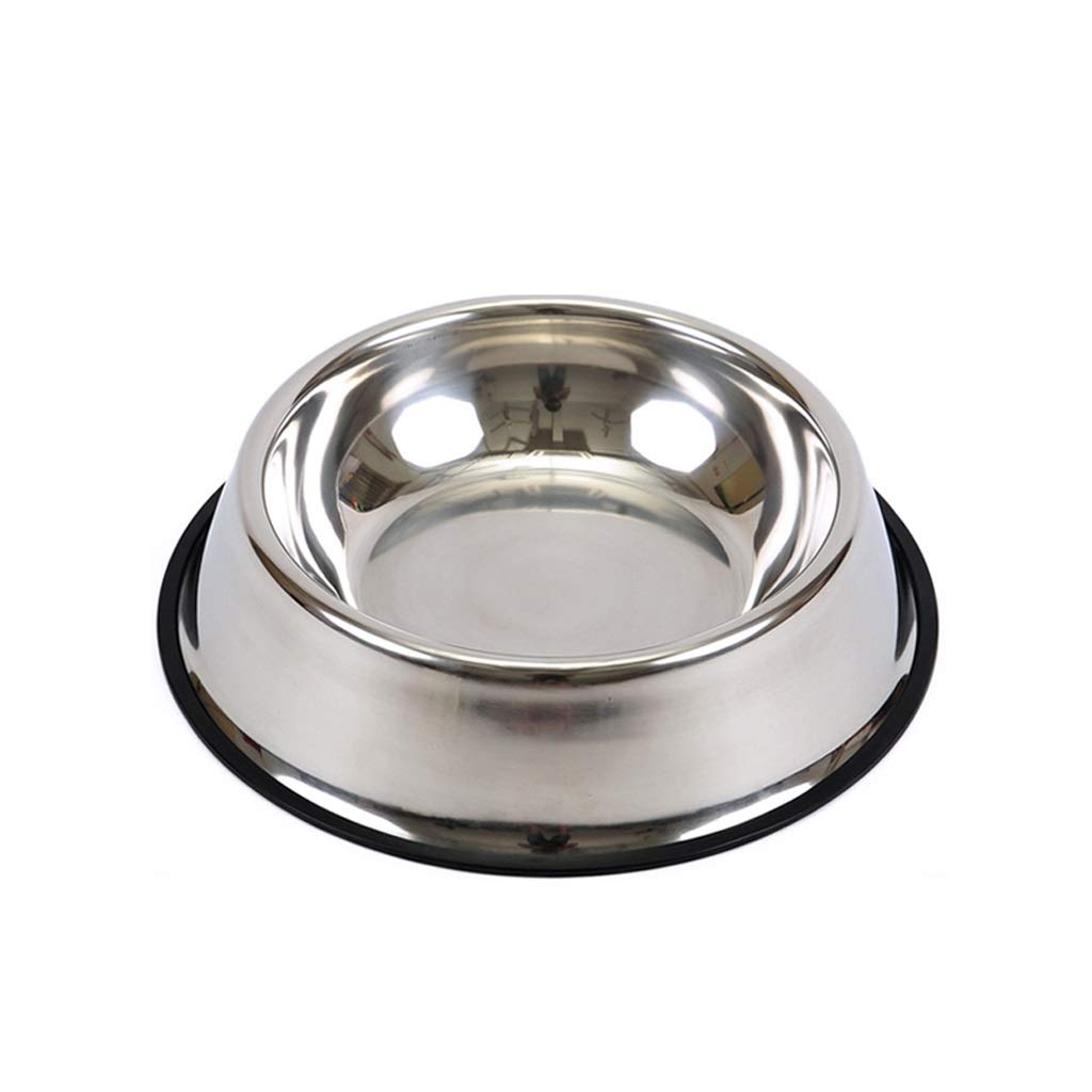 Hzpxsb Stainless Steel Dog Bowl Dog Cat Food and Water Bowls Stand Feeder for Cats Dogs. Medium Dog Bowl Made from Stainless Steel Pet Feeding for