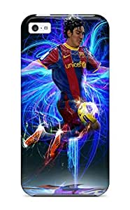 meilz aiaiiphone 5/5s Case, Premium Protective Case With Awesome Look - Lionel Messi Backgroundmeilz aiai