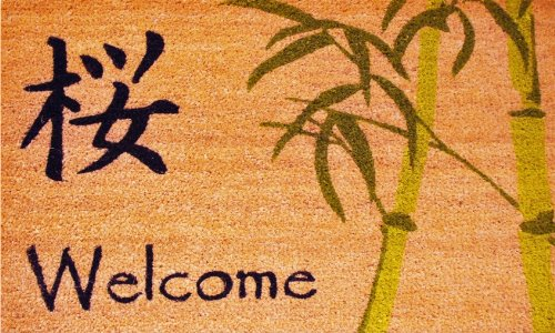Cheap  Home & More 120441729 Asian Welcome Doormat, 17