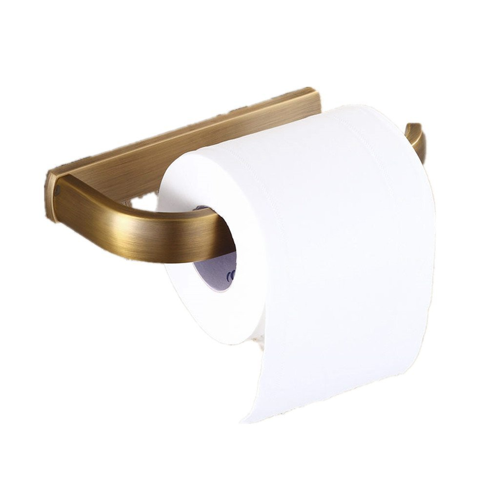 Amazoncom Auswind Antique Square Brass Toilet Paper Holder Without
