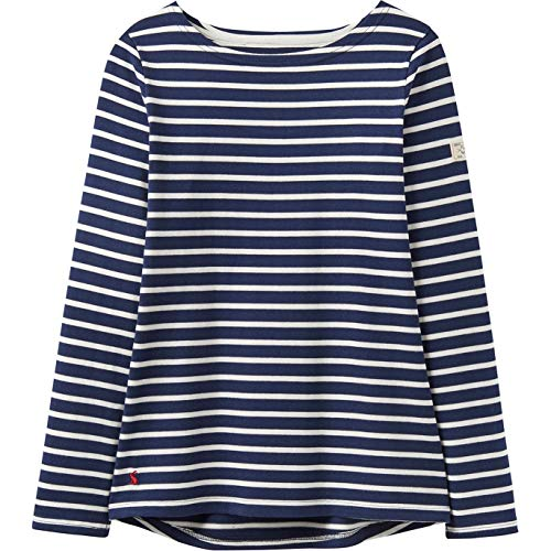 Armada Stripe - Joules Women's Harbour Jersey Top Hope Stripe French Navy 4