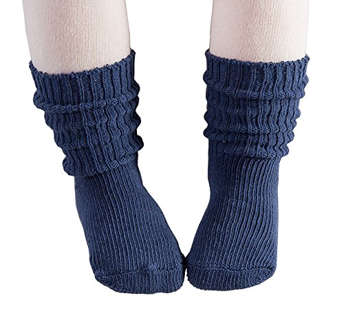 Baby Boys Infant Toddler Non-skid Warm Knit Floor Socks 4 - Gingers No Soles Have