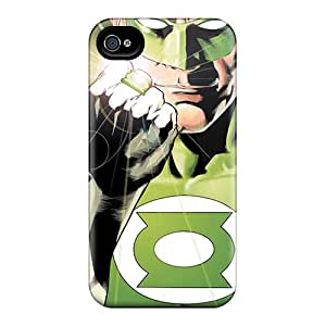 Iphone 4/4s PGC11997qneN Allow Personal Design Stylish Green Lantern I4 Pictures Protector Hard Phone Cases -Marycase88