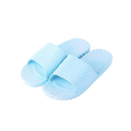 Happy Lily Drain Quick Bathroom Mule Soft Slip-on Slippers Non-slip Shower Sandals Beach Slide Pool Shoes