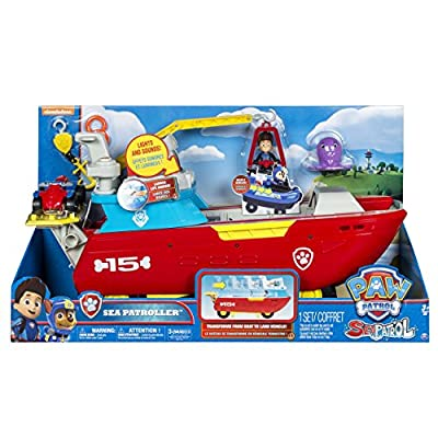 Paw Patrol Sea Patroller Transforming Vehicle