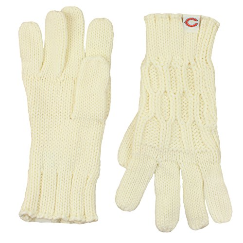 Reebok Chicago Bears NFL Women's Knitted Gloves (One Size Fits Most)