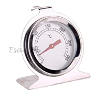 Useful 300 Degrees Celsius Stainless Steel Oven Thermometer Baking Oven Thermometer