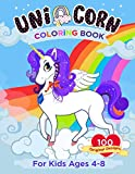 Unicorn Coloring Book For Kids Ages 4-8: Over 100 Pages of Unique Unicorn Designs | Coloring activities for Kids Ages 4-8
