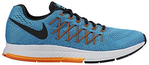 Nike Air Zoom Pegasus 32, Scarpe da Ginnastica Uomo Turchese/Arancione/Nero