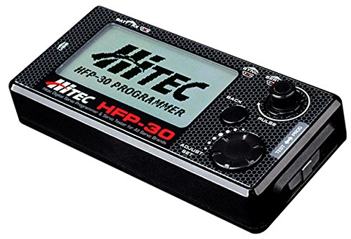Hitech RCD 44427 Hfp-30 Digital Servo Programmer & Tester (Replaces Hfp-25)