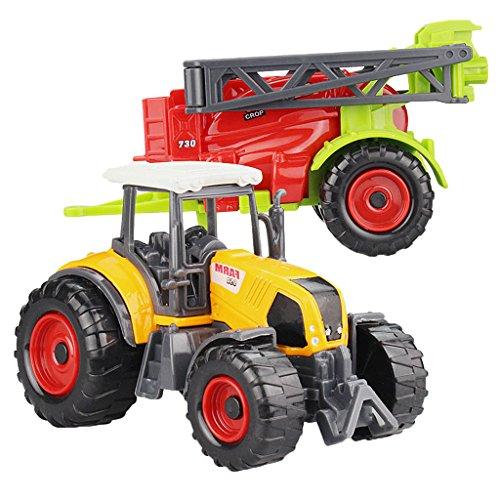 SONONIA 合金製 ミニ農場車両 トラック モデル 子供 屋内と屋外ゲーム ギフト 全10色選べ - #3  20.5 * 6センチメートル