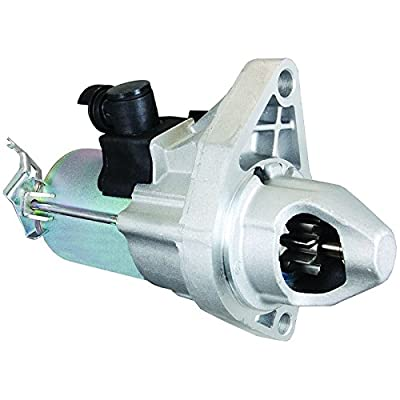 New Starter For 2006 2007 2008 2009 2010 2011 06 07 08 09 10 11 Honda Civic 1.8L w/AT, Replaces 31200-RNA-A50, 31200-RNA-A51, RNA50, SM710-01