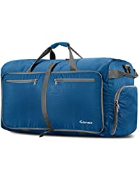 100L Foldable Travel Duffle Bag, Extra Large Luggage Duffel 12 Color Choices