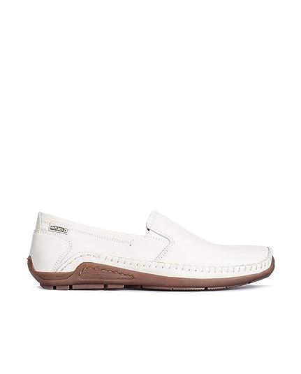 PikolinosAZORES 06H_V15 - Mocasines Hombre, Color Blanco, Talla 41: Amazon.es: Zapatos y complementos
