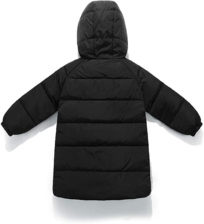 Naladoo Baby Girl Boy Stitching Button Hooded Coat Cloak Jacket Thick Outerwear