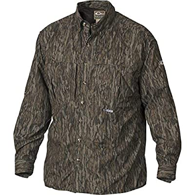 Drake EST Two-Tone Camo Vented Wingshooter's Shirt L/S