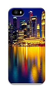 iPhone 5 5S Case Beautiful city at night 07 3D Custom iPhone 5 5S Case Cover