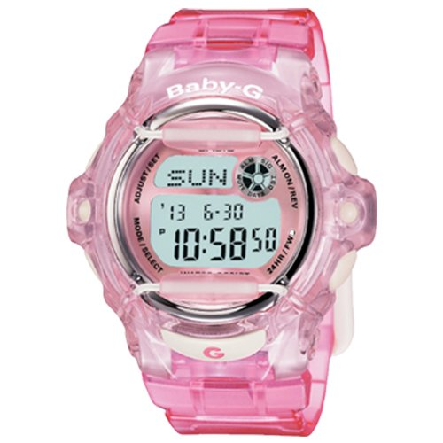 Baby G Ladies Watches 200M BG 169R 4DR
