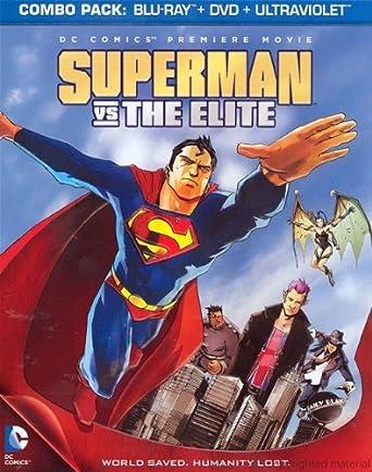 Superman Vs. The Elite Blu-Ray + DVD + Ultraviolet Digital Copy ...