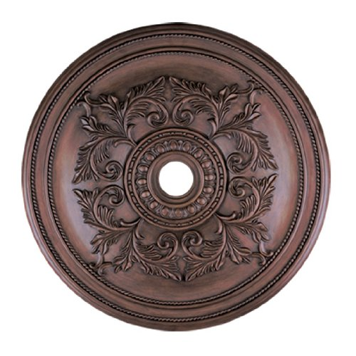 Livex Lighting 8211-58 Ceiling Medallion, Imperial Bronze ()