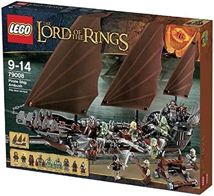 79008 PIRATE SHIP AMBUSH lord of the rings LOTR lego legos set NEW boat